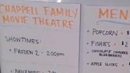 Dad Makes Daughters a 'Fake Movie Theatre' During Coronavirus Lockdown