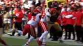 Chiefs' Tyrann Mathieu delivered a huge hit on former KC tight end Ricky Seals-Jones