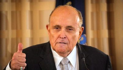 Trump adviser Giuliani asks judge to throw out $1.3 billion lawsuit over his 'big lie' election claims