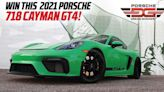 Get Lucky Winning This 2021 Porsche 718 Cayman GT4 Plus $33,000 Cash
