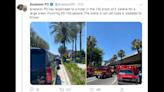 'It just snowballed.' Nearly 100 people brawl inside hotel near Disneyland, police say