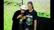 Sports stars Megan Rapinoe and Sue Bird engaged