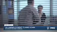 Unemployment claims fall for 6 weeks