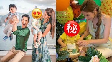 陳凱琳細仔1歲生日萌爆精緻似公仔 網民:睇唔出似爹地定媽咪