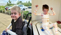 'A paper cut could kill him': Teen with rare, dangerous condition celebrates his 16th birthday