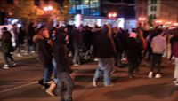 Columbus protesters observe 16 minutes of silence