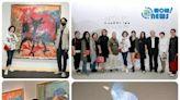 2021臺北國際藝術博覽會(ART TAIPEI )盛大開幕 張逸羣:「謝謝文化部的『積極性藝文紓困』方案,給予藝術產業很大的幫助。」