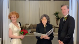 Lily Tomlin officiates Kathy Griffin's surprise wedding