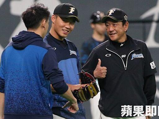 王柏融、大谷翔平都在他任內加盟 日本火腿監督栗山英樹卸下10年兵符   蘋果新聞網   蘋果日報