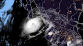 Storm Olaf drenches Mexico's Baja California