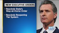 Newsom Signs Order Rescinding Stay-At-Home Order
