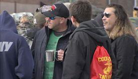 Cookie's Tavern draws huge crowd to celebrate Marine Corps 244th birthday