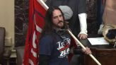 Capitol rioter who breached Senate gets 8 months for felony