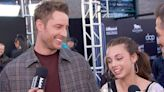 Justin Hartley Sounds Off on Chrissy Metz's Singing Skills - E! Online