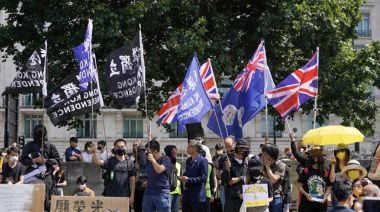 【直播】612兩周年|倫敦3千人集會遊行 英多名議員出席撐港人(不斷更新)