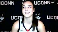 UConn freshman Nika Muhl explains when she fell in love with basketball