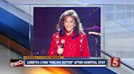 Loretta Lynn 'resting' after hospital visit