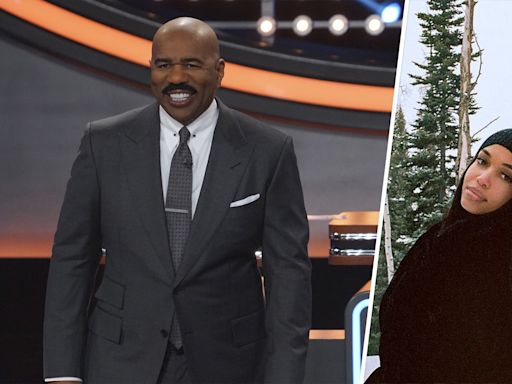 Steve Harvey on what he thinks about his daughter dating the 'Sexiest Man Alive'
