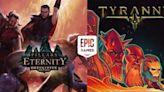 【限時免費】《Pillars of Eternity》永恆之柱 決定版、《Tyranny》放送中