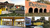 Inside the abandoned UK theme park with deserted shops and broken rides