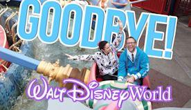 Good-Bye Disney World | Amanda Cries Again and What Treat Do You Think She'll Get?