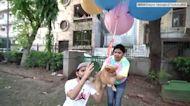 博美綁氣球「放飛上天」 415萬網紅虐狗被捕 鏡週刊