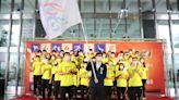 陳其邁為全運會授旗 承諾運動中心增加到13座