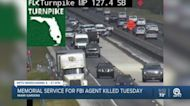 Motorcycle officer injured on Florida's Turnpike