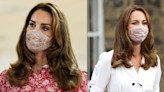 Kate Middleton brought back her favourite floral face mask for her latest official engagement