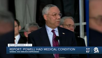 Colin Powell had underlying health issues