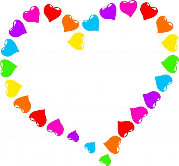 Rainbow Heart Clipart Free Stock Photo - Public Domain Pictures
