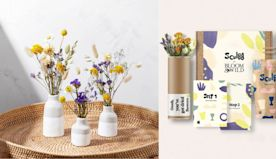 Bloom & Wild teams up with Sculpd to make stunning pottery kits with dried flowers to arrange