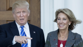 Betsy DeVos leaves behind a stark but transient legacy at Trump's Education Department