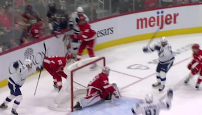 Alex Killorn with a Goal vs. Detroit Red Wings
