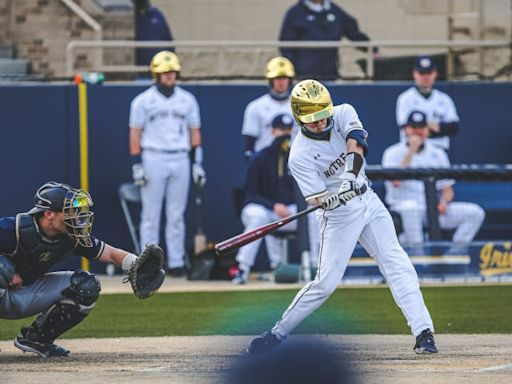 Notre Dame Baseball Moves Into Top 10 After Another ACC Series Victory