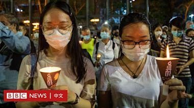 黃之鋒等四人認罪 參加香港六四燭光晚會首變犯罪行為