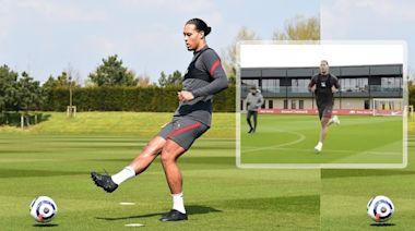 英超|VVD努力復出訓練場跑步 球迷急不及待:等你救利物浦返前四 | 蘋果日報