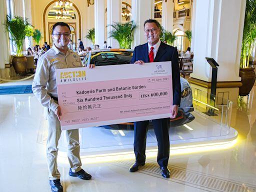 捷成馬:拍賣一輛Aston Martin跑車作慈善捐贈