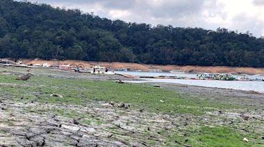 梅雨不如預期 日月潭水庫5月進水量為4月份的4分之1