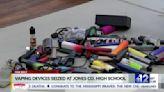 Jones County deputies seize more than 100 vape pens from schools
