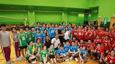 TVB《明星運動會》男女排球7月有得睇 黃子恆朱智賢任隊長搏到盡