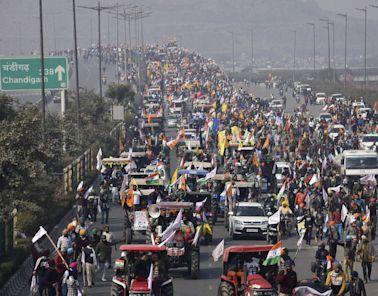 鬼王來鬼扯》開拖拉機進城抗議的印度農民到底出了啥事? - 自由評論網