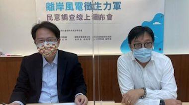 離岸風電將成再生能源主力 民眾支持落實國產化催生台灣隊