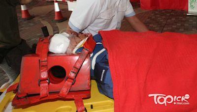 【鋸樹意外】消防員打鼓嶺遭樹幹擊中頭部 昏迷送院搶救 - 香港經濟日報 - TOPick - 新聞 - 社會
