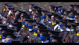 Duke's Class of 2020 finally able to have a graduation