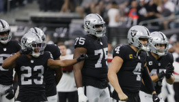 Raiders roll past Eagles to AFC West lead with second straight blowout since Jon Gruden's departure