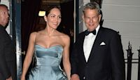 Katharine McPhee & David Foster: 1st Photo Of Couple Saying Their Vows & New Pics Of Her Gown