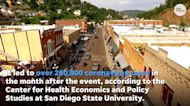 Study says sturgis bike rally was a 'super-spreader' event, led to 260,000 COVID-19 cases