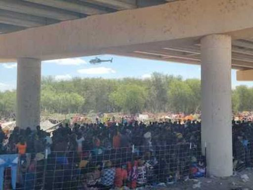 Biden faces new immigration challenge as Haitian arrivals swell under Del Rio bridge