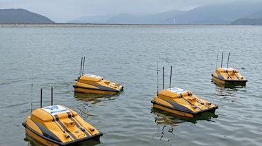 無人船系統自動監測水塘水質